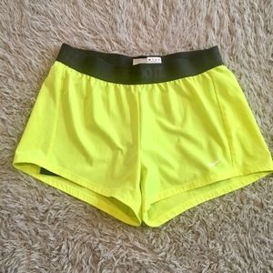 Just Do It Neon Nike Shorts